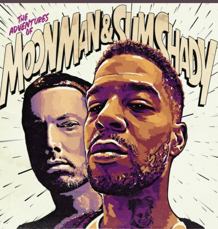 "As Promised New Release Drop ""Kid Cudi – The Adventures Of Moon Man & Slim Shady ft. Eminem"""