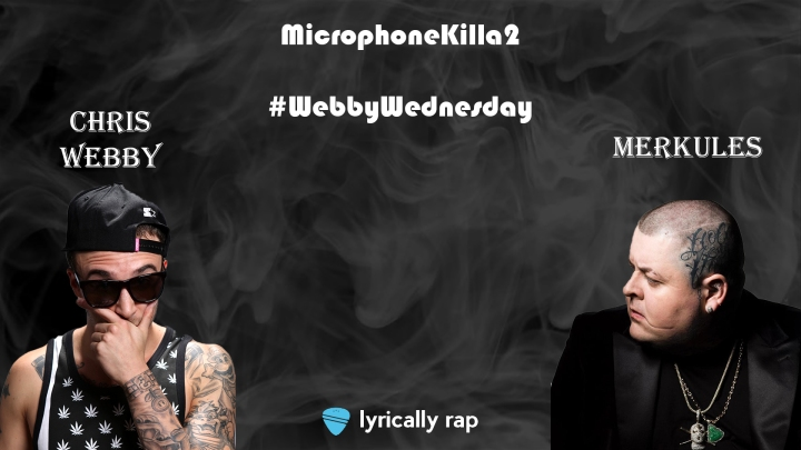 Chris Webby and Merkules Drop Insane New Track: Microphone Killa 2