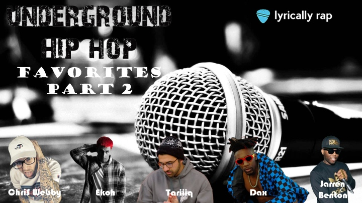 Indie/Underground Hip Hop: My Favorite Artists Part 2