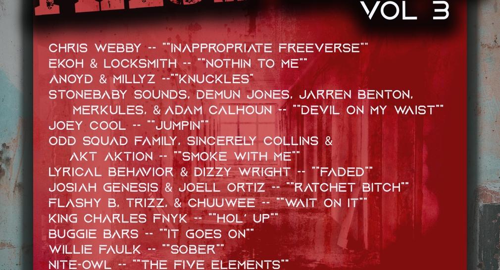 Lyrically Rap Fresh Rapz Spotify Playlist with the best rap songs updated weekly.