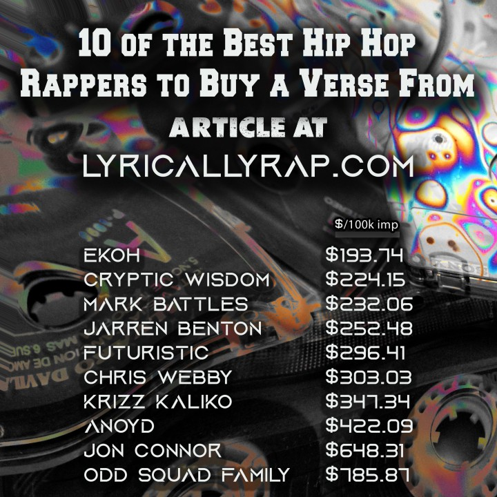 "10 of the Best Hip Hop Rappers to Buy a Verse From – ""Best Bang for your Buck"""