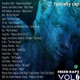 "Best Rap Playlist Around: Lyrically Rap Presents ""Fresh Rapz Vol. 6"""