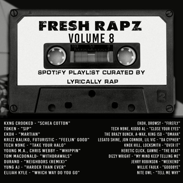 Fresh Rapz Volume 8 - 20 Best New Rap Songs