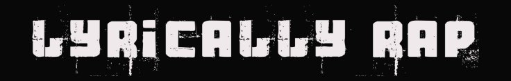 Lyrically Rap Logo for Site 2